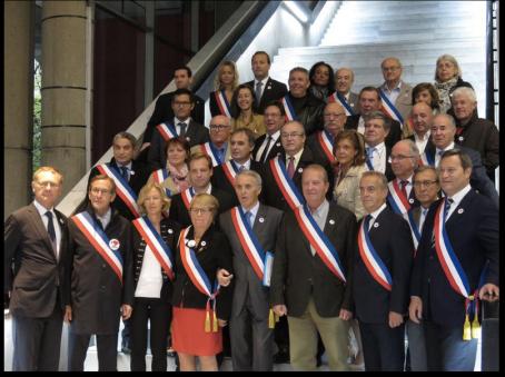 Réunion des maires et élus du 92