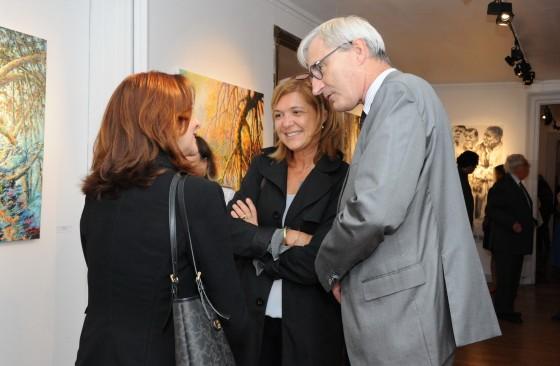 inauguration de l'exposition Macondiando 2017 avec T Braconnier