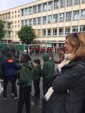 Visite de l'école de la réussite à Asnière