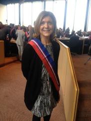 Nouvelle élue Conseillère Départementale