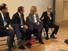 Campagne des sénatoriales avec G Siffredi et P Pemezec