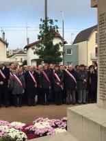 Commémoration du souvenir à Châtillon