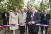 Inauguration de la coulée verte