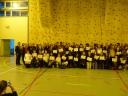 Remise des diplômes du Brevet au Collège Georges Sand à Châtillon