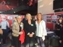 ACB avec Mme de KERPRIGENT, Directrice de l'Institut des Hauts-de-Seine et Mme DEMBLON-POLLET, Conseillère départementale