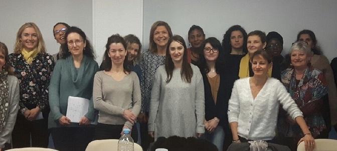 Visite et échanges avec l'équipe de l'Espace Départemental d'Actions Sociales (EDAS) à Châtillon