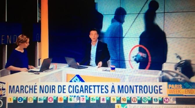 Le marché noir de cigarettes au métro Châtillon-Montrouge sur BFM Paris.