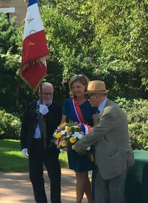commémoration de la libération de Châtillon