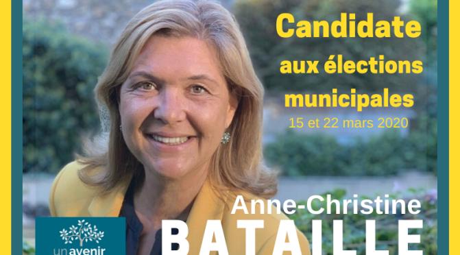 Soutenez la candidature d'Anne-Christine BATAILLE
