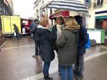rencontres au marché
