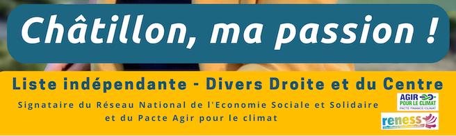 Notre programme pour l'avenir de Châtillon