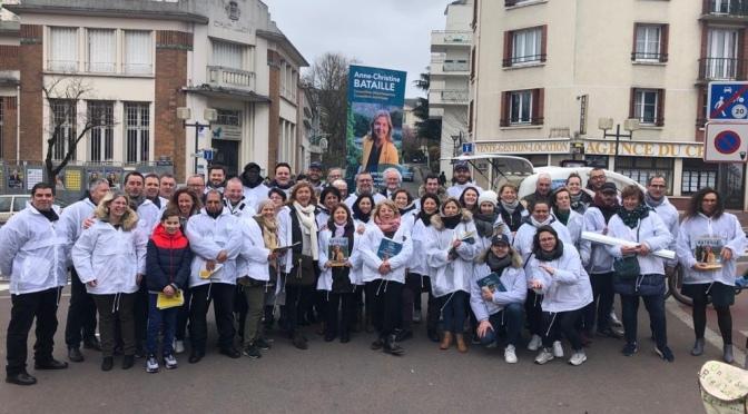 J-5 : Anne-Christine Bataille s'adresse à vous. Dimanche 15 mars VOTEZ pour donner un Avenir pour Châtillon!